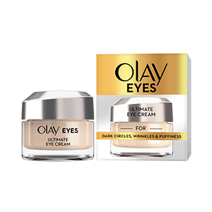 Olay Eyes Ultimate Eye Cream for wrinkles, puffy eyes, and dark circles