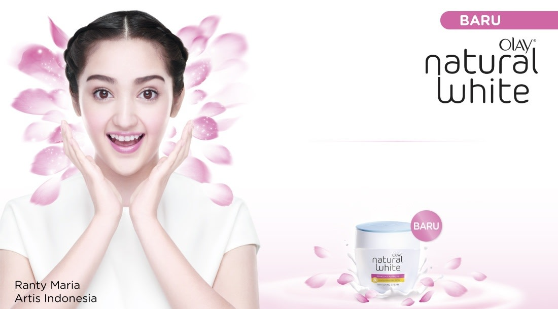 pemutih wajah olay natural white