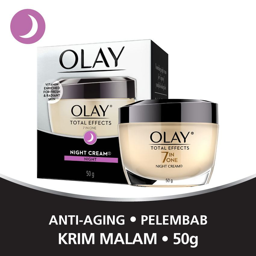 night cream anti aging kulit cerah bersinar
