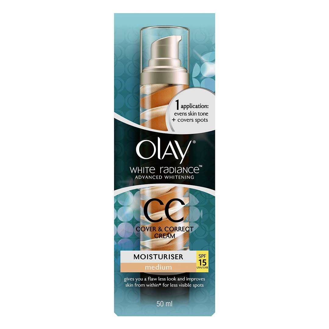 Olay White Radiance CC Cover & Correct Cream Medium SPF15