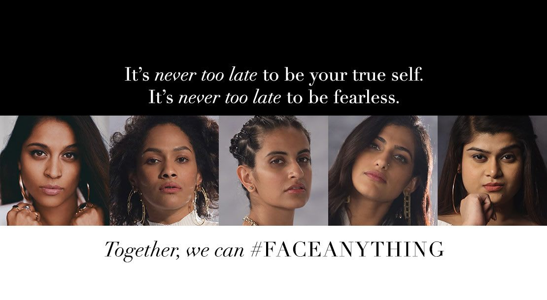 Olay Face Anything Campaign for Women