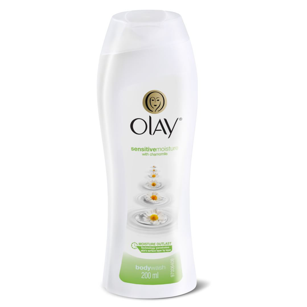 Olay Sensitive Moisture with Chamomile Body Wash 200ml