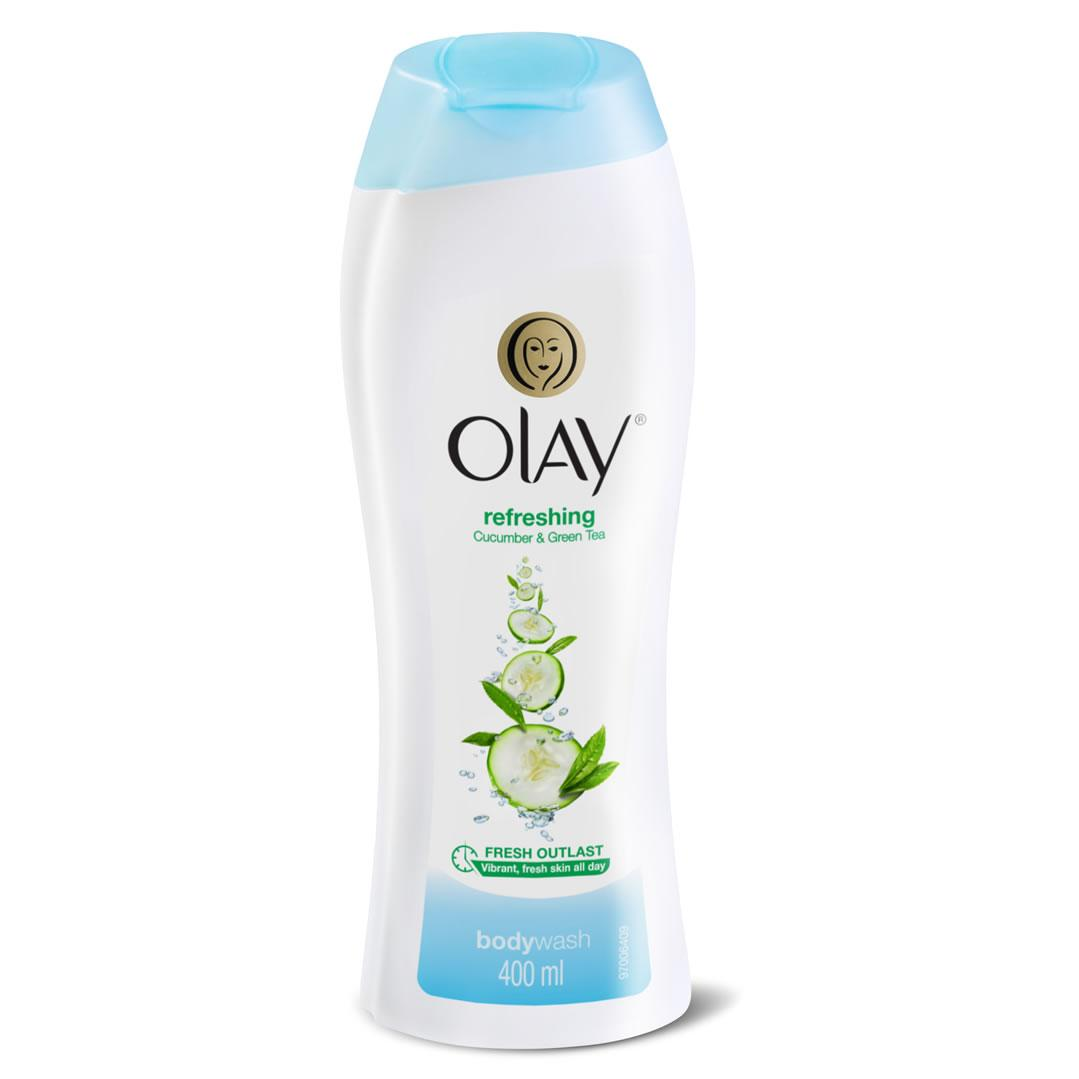 Olay Refreshing Cucumber & Green Tea Body Wash 400ml