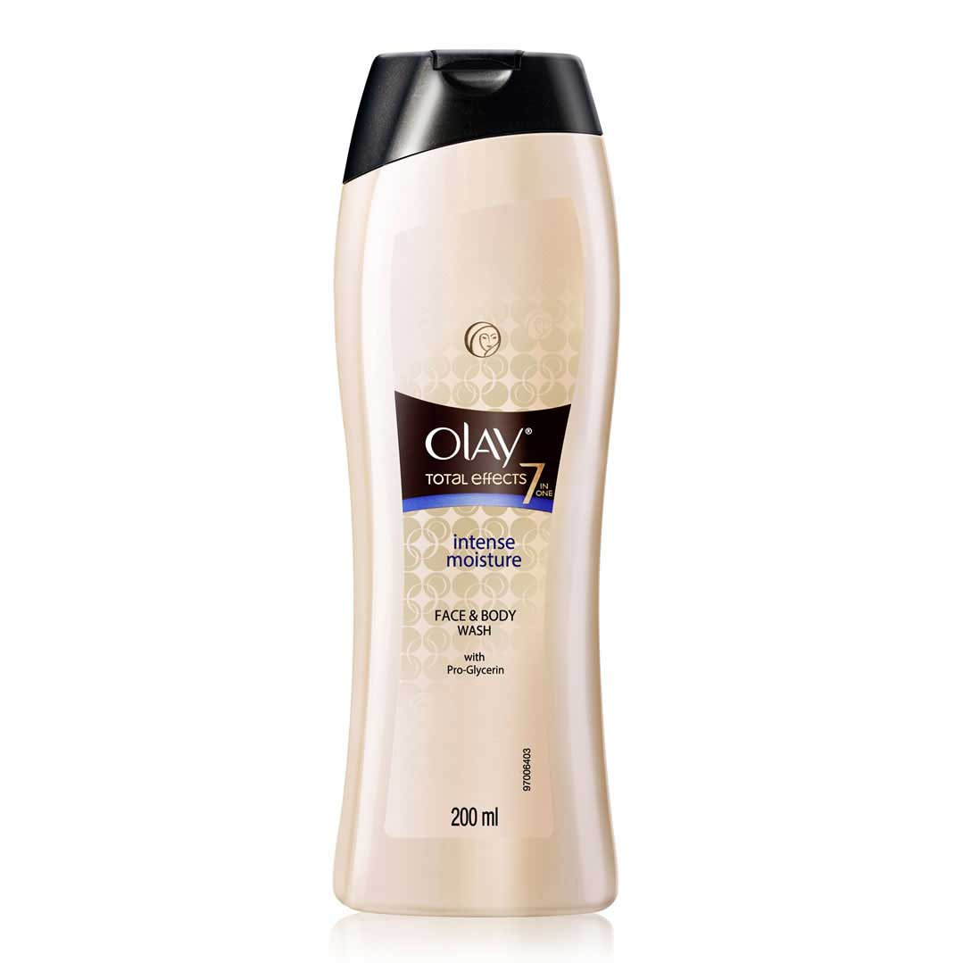 "Olay Total Effects ""7-in-1"" Face & Body Wash 200ml"