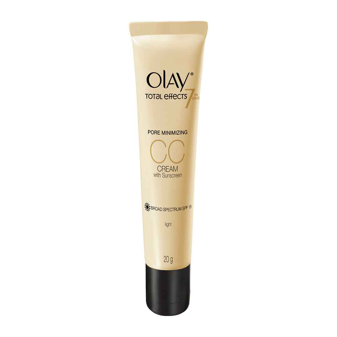 Olay Total Effects 7 in One Pore Minimizing CC Cream with Sunscreen SPF 15 Light