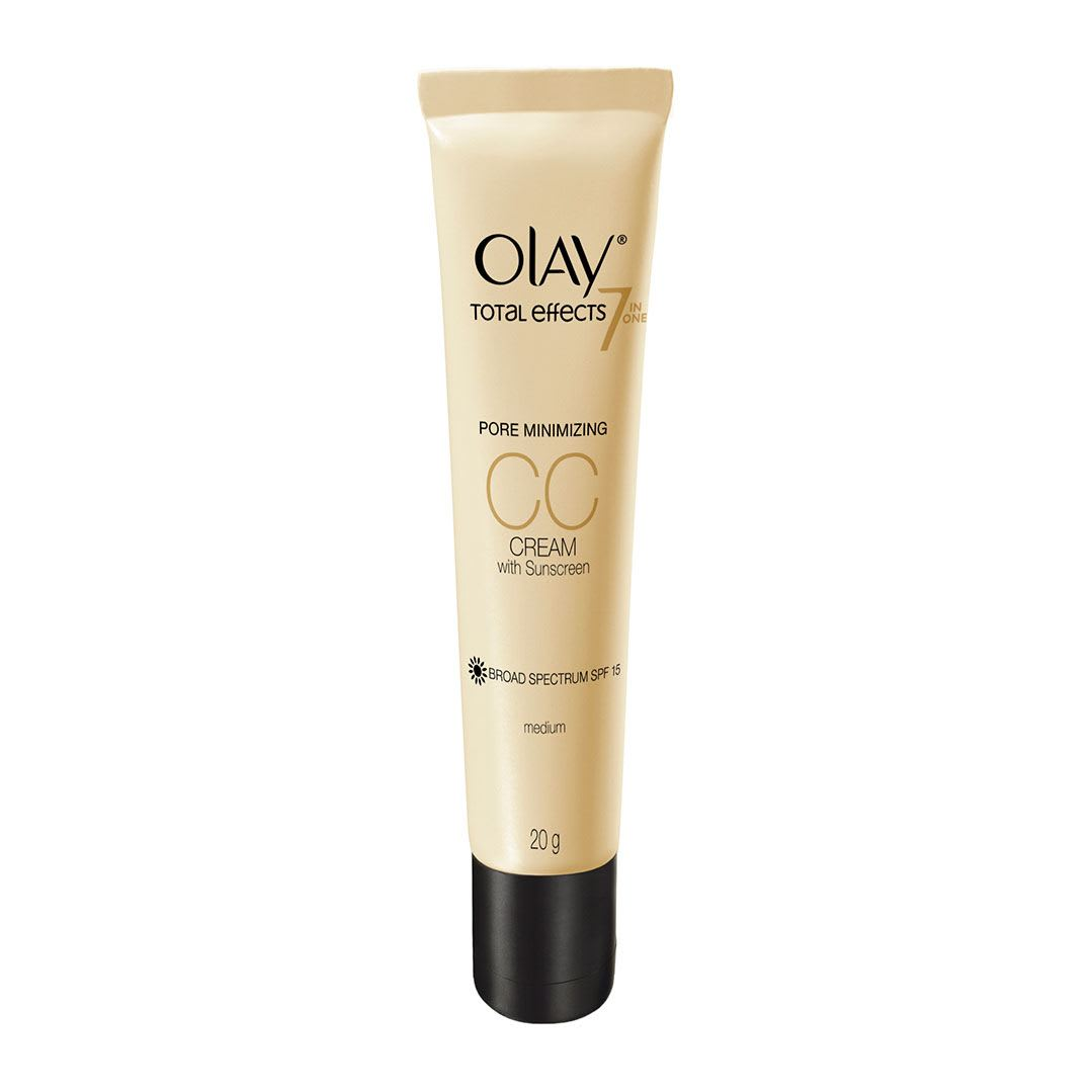 Olay Total Effects 7 in One Pore Minimizing CC Cream with Sunscreen SPF 15 Medium