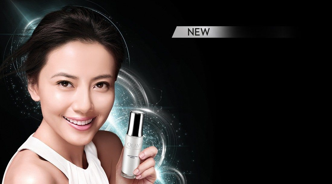 New Olay Luminous For Pearlescent Healthy Glow