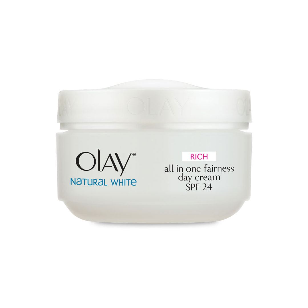 Olay Natural White Rich all in one Fairness Day Cream SPF24