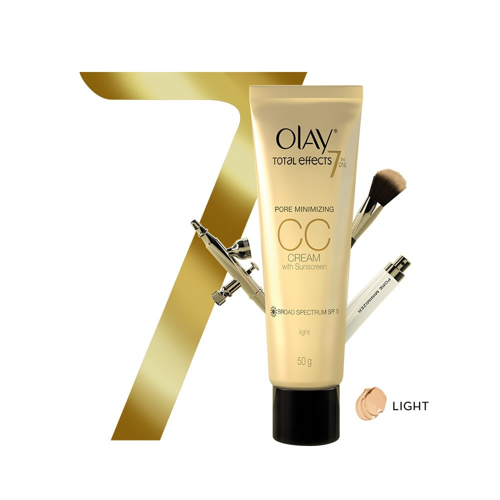 Olay Total Effects 7 in one Pore Minimizing CC CreamSPF15 Light