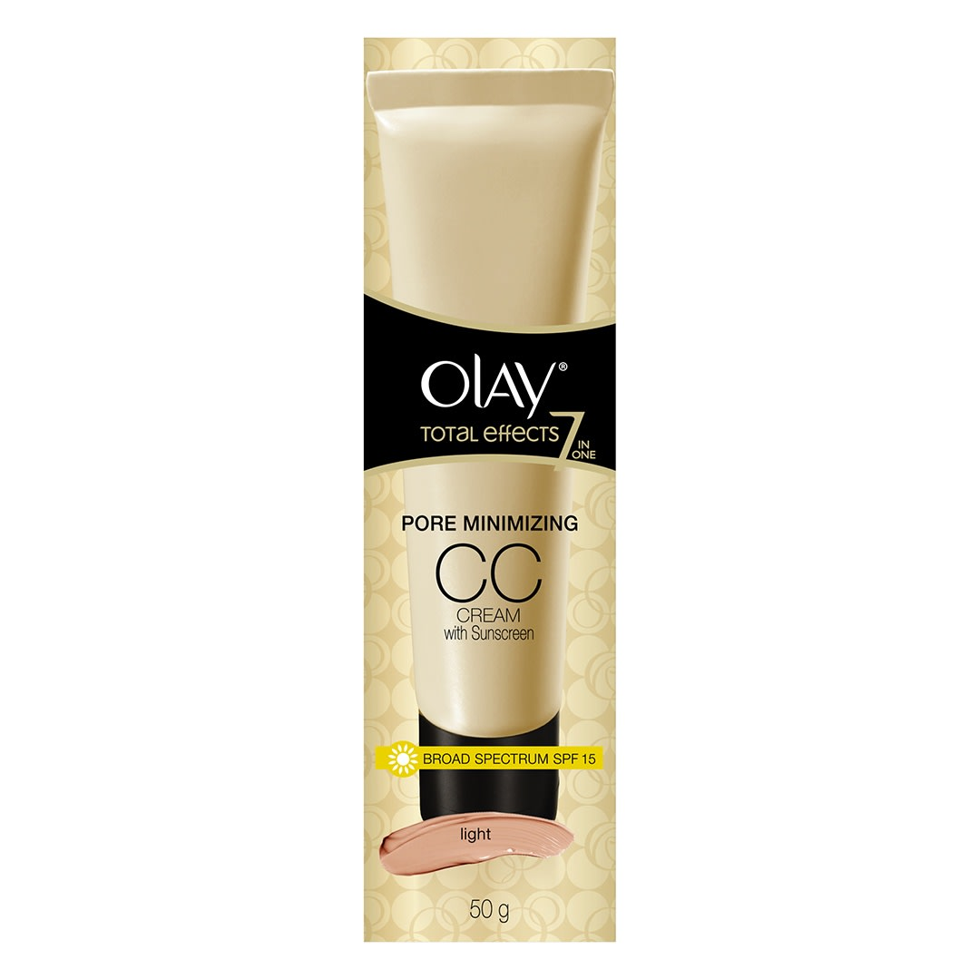 Olay Total Effects 7 in One Pore Minimizing CC Cream SPF15 Light