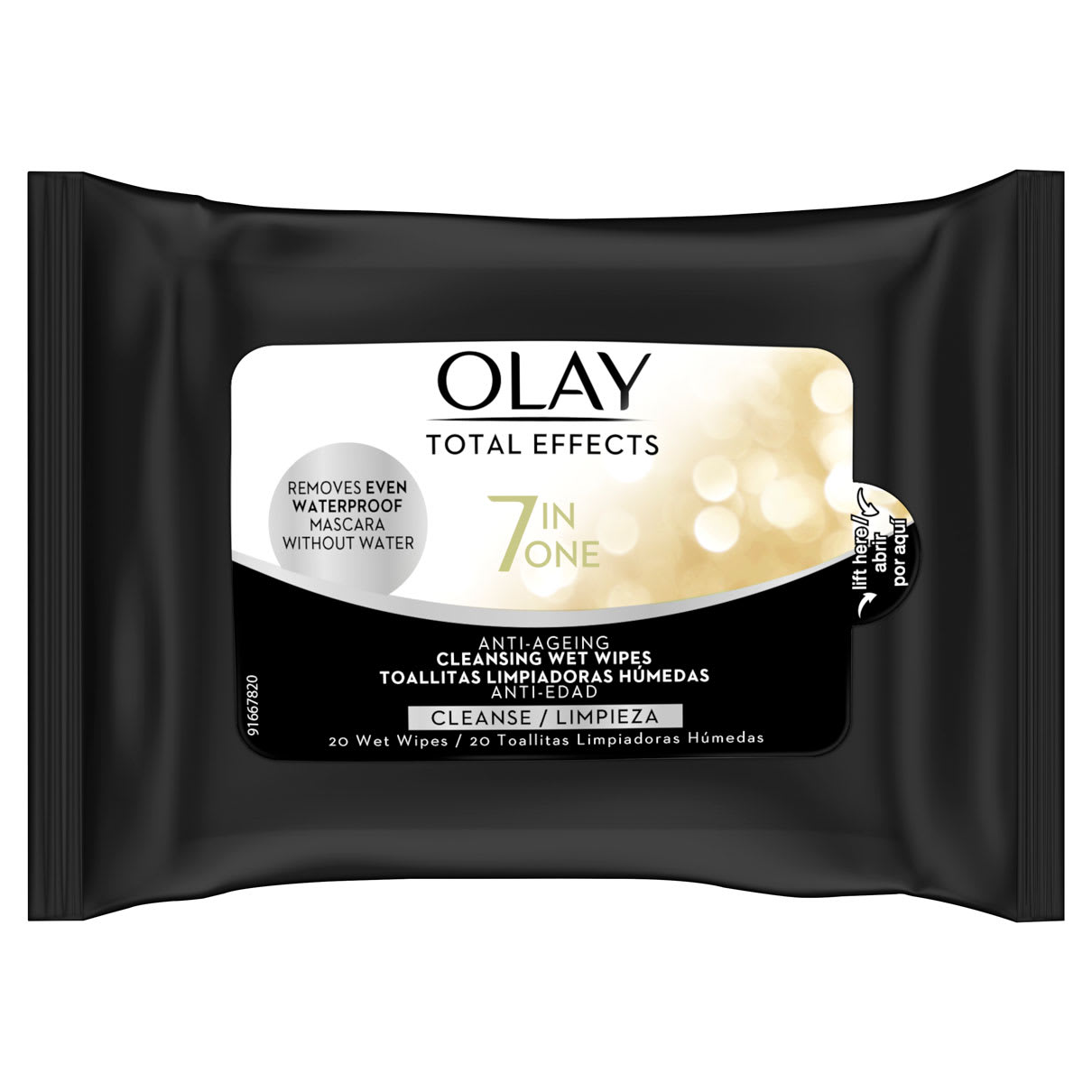 Olay Total Effects 7in1 Age-Defying Wet 20 Wipes