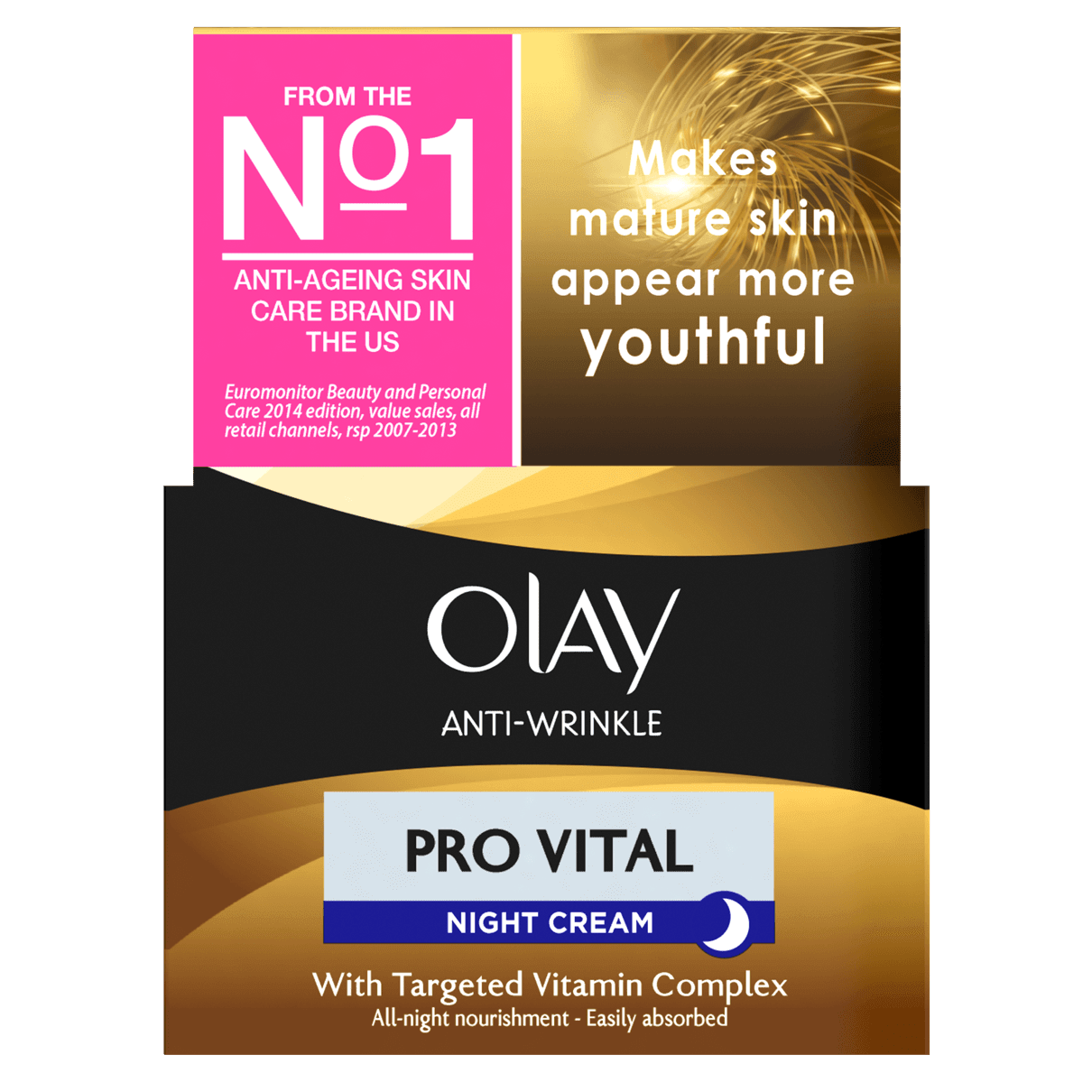 Night cream Olay Anti Wrinkle Mature Skin