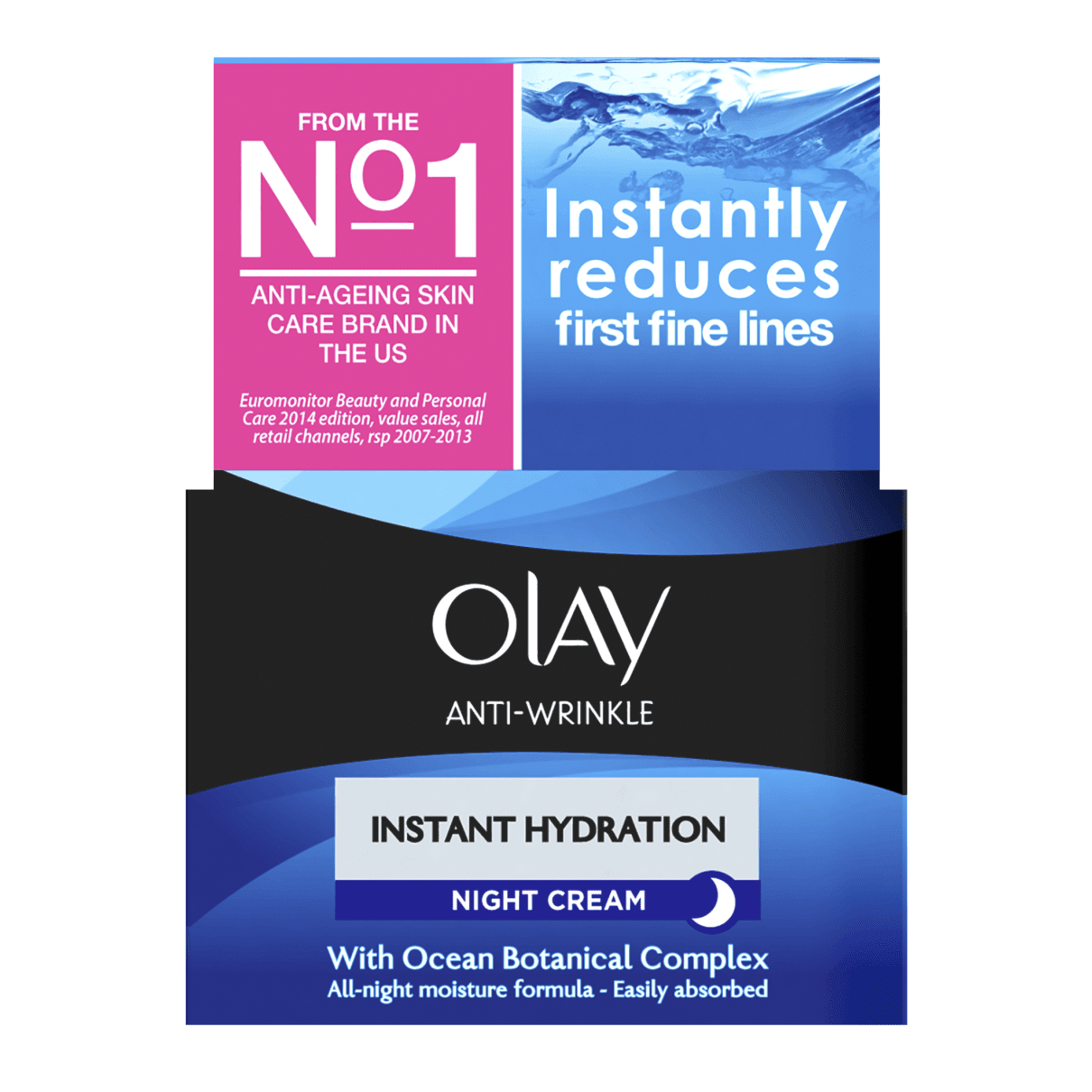 Anti-Wrinkle Instant Hydration Night Cream