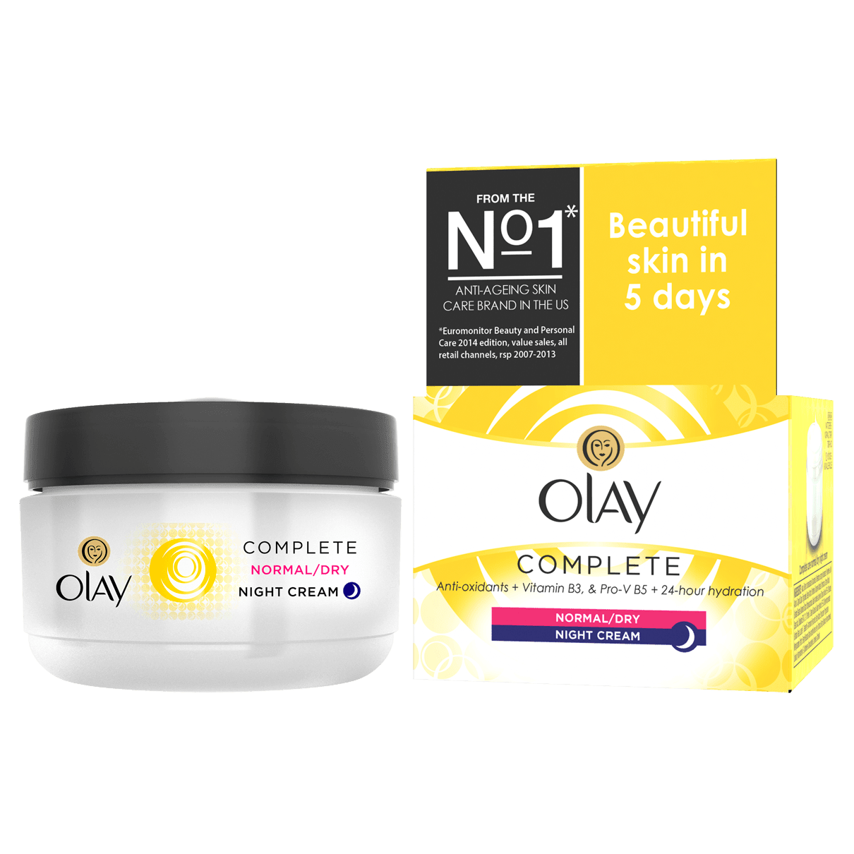 Olay Essentials Complete Care Night Cream | Olay UK