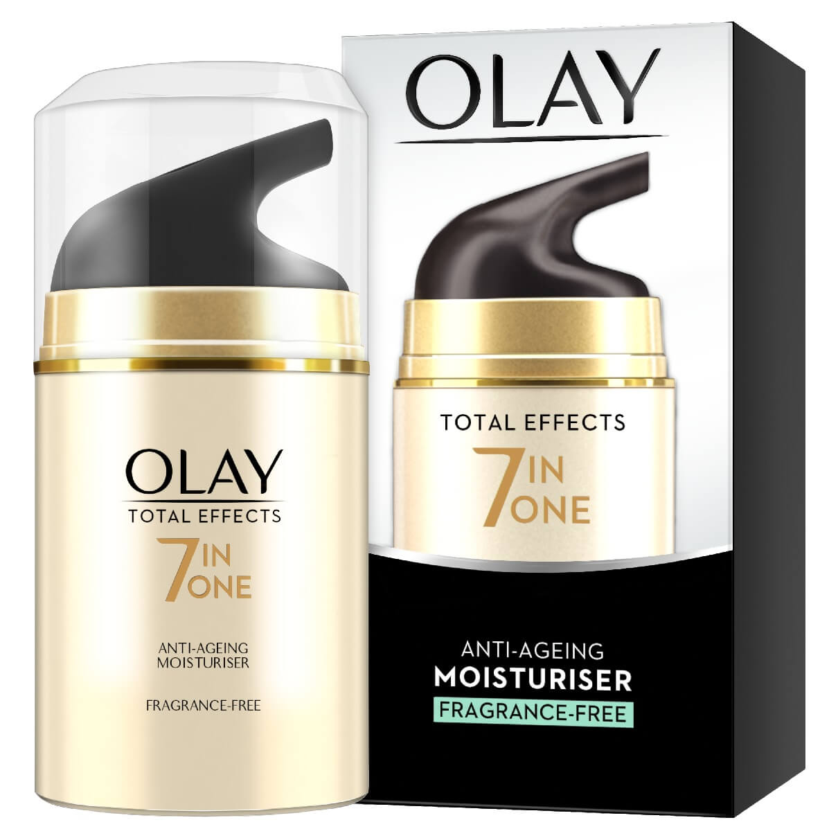 Olay Total Effects 7in1 Fragrance Free Anti-Ageing Moisturiser 50ml