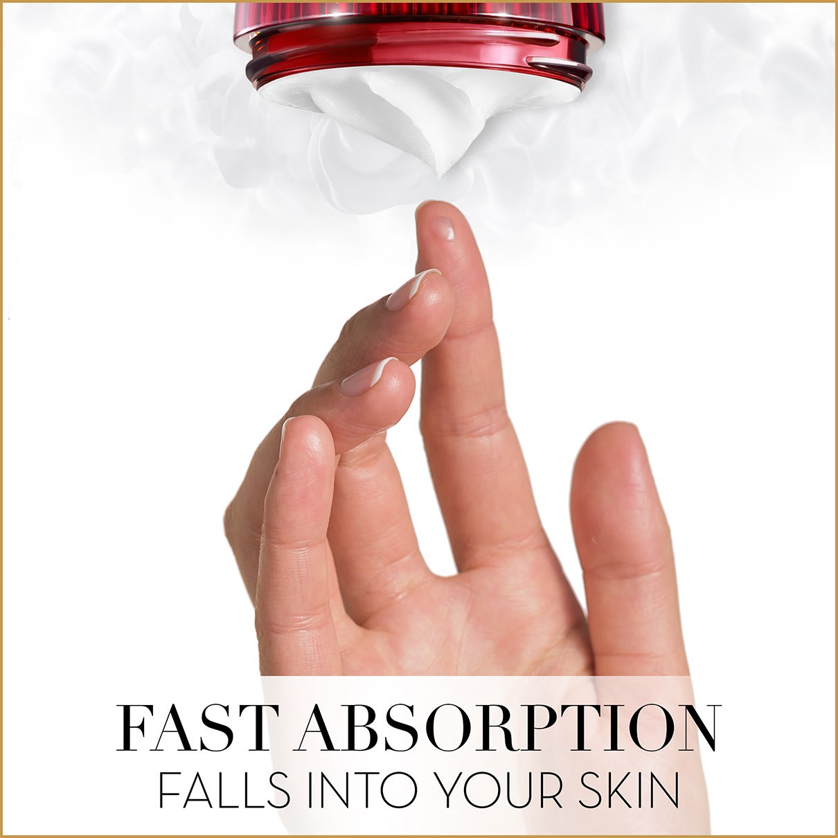 Fast Absorption Falls Into Your Skin