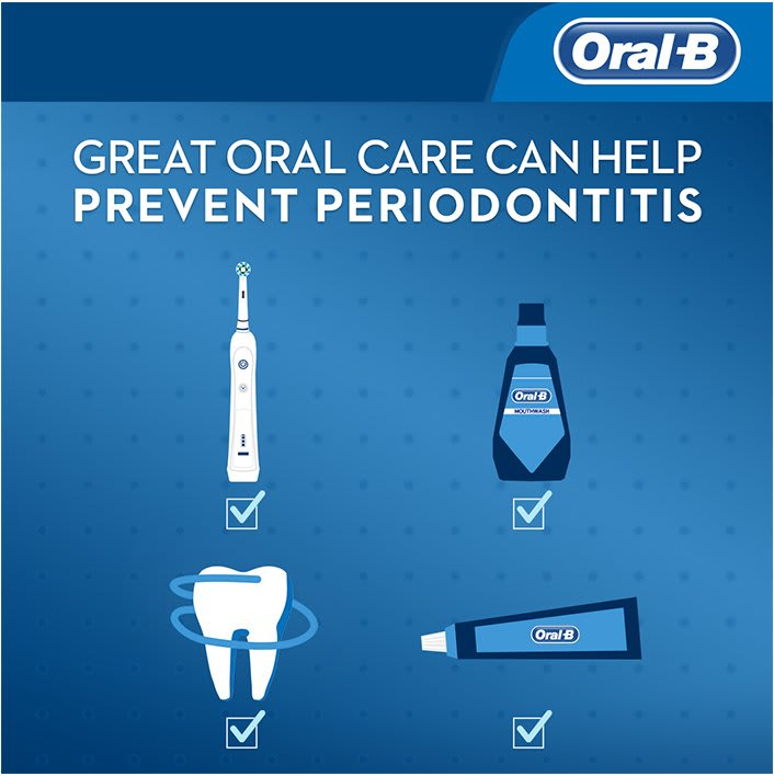 great oral care prevents periodontitis