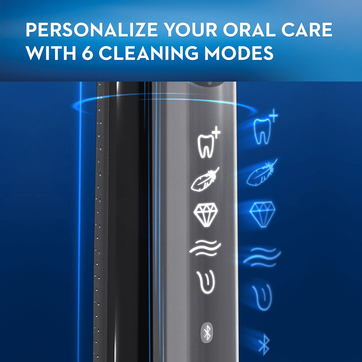 6 cleaning modes