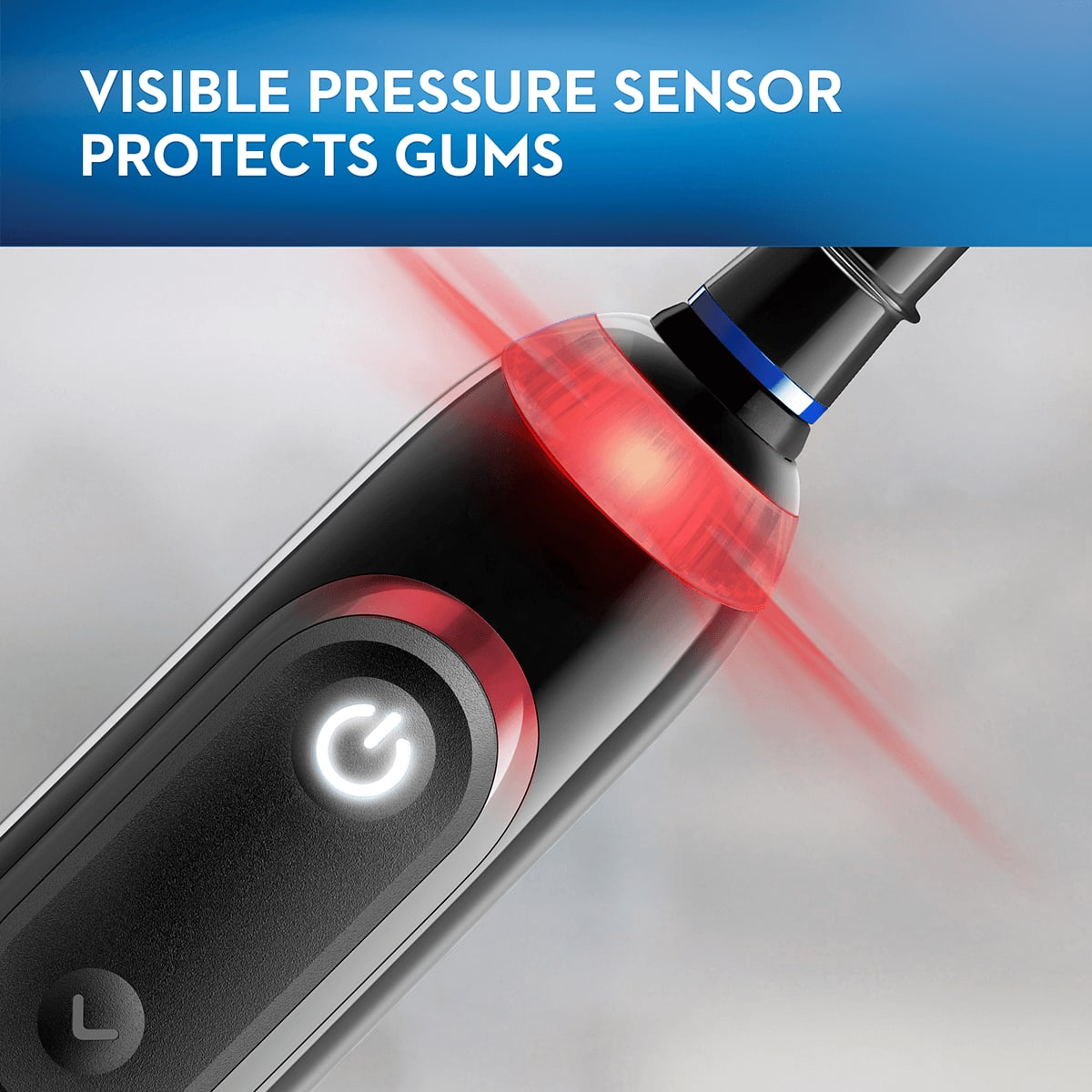 Visible Pressure Sensor Protects Gums