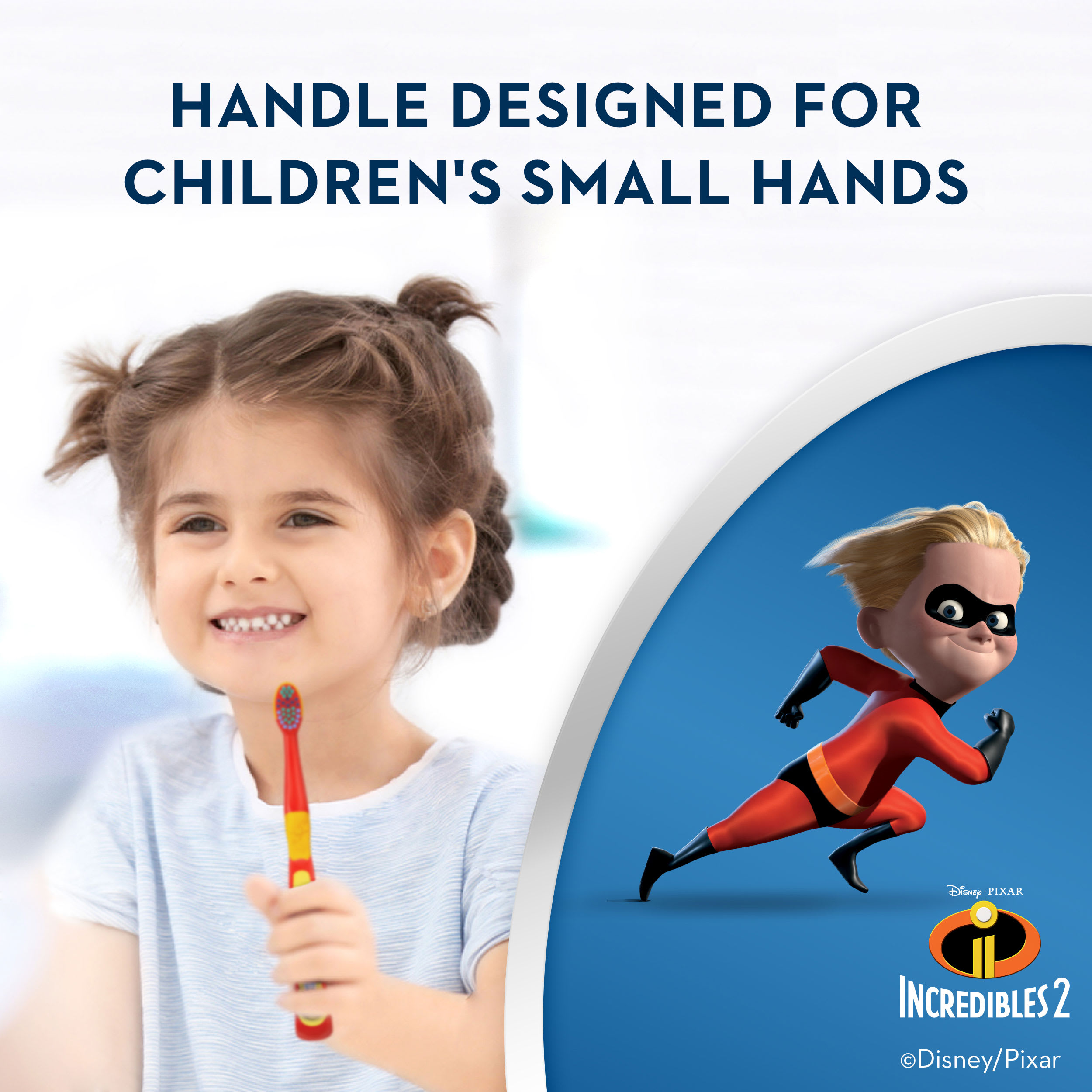 ORAL-B Kids Toothbrushes – Disney's The Incredibles 2