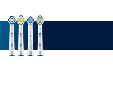 Explore Oral-B replacement brush heads for a deeper clean.