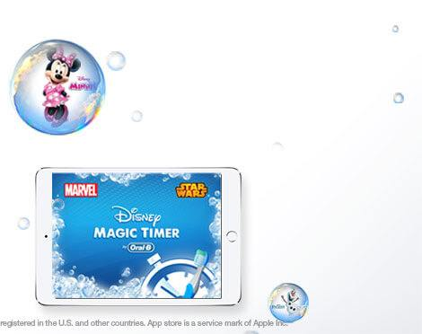 Get the FREE OralB Disney Magic Timer App