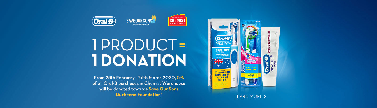 1 product 1 donation