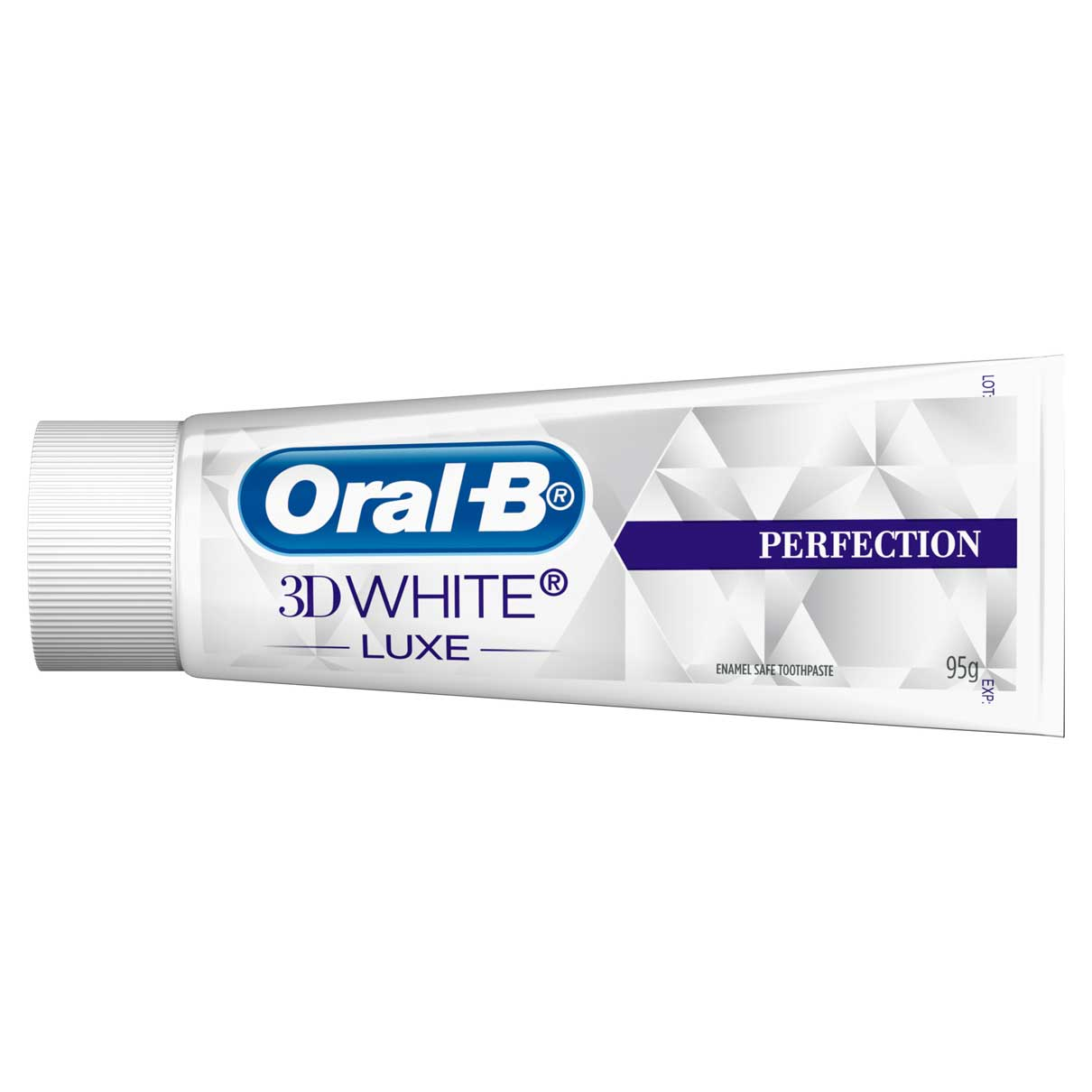 Oral-B 3D White Perfection Tube Horizontal