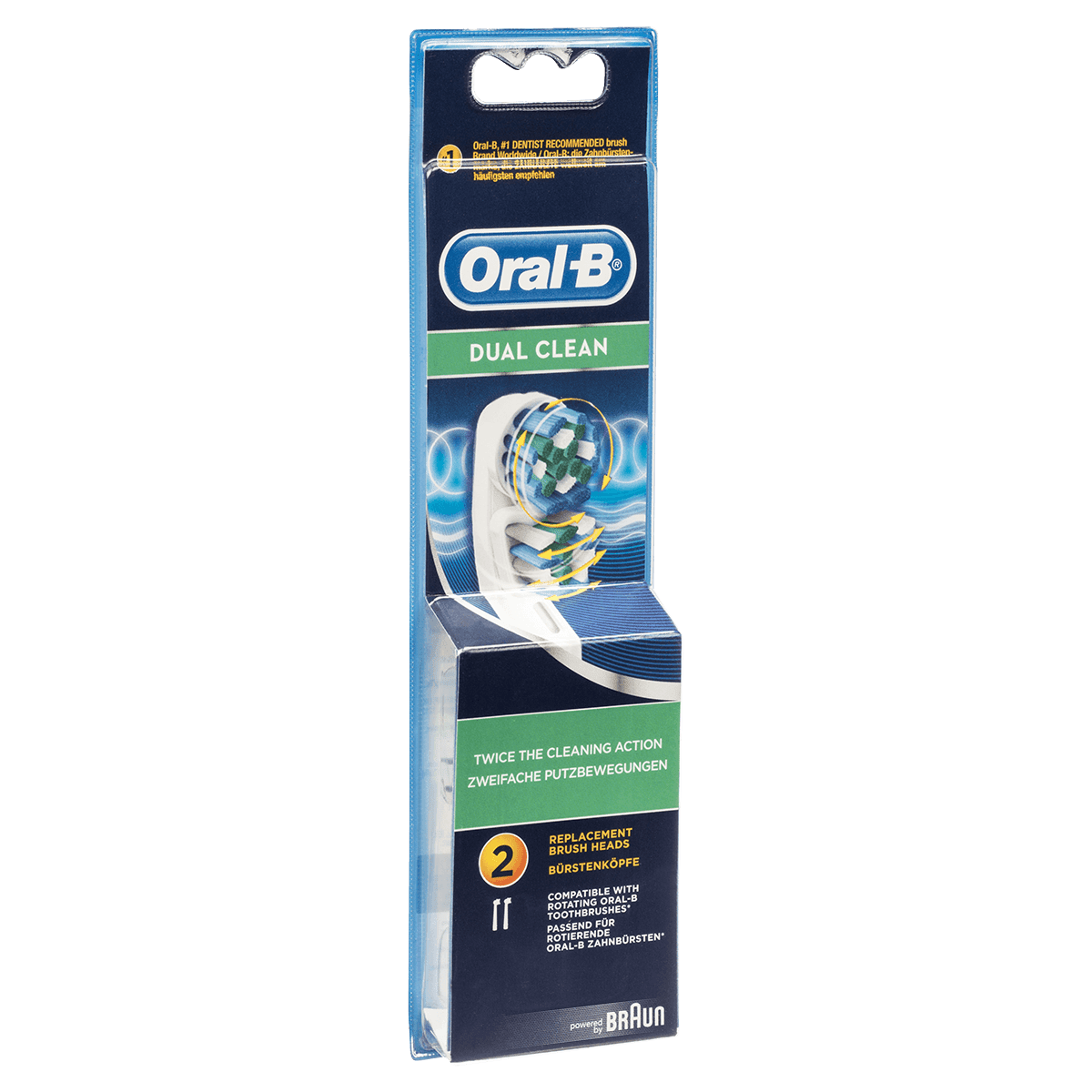 Braun Oral-B Dual Clean Replacement Brush Heads