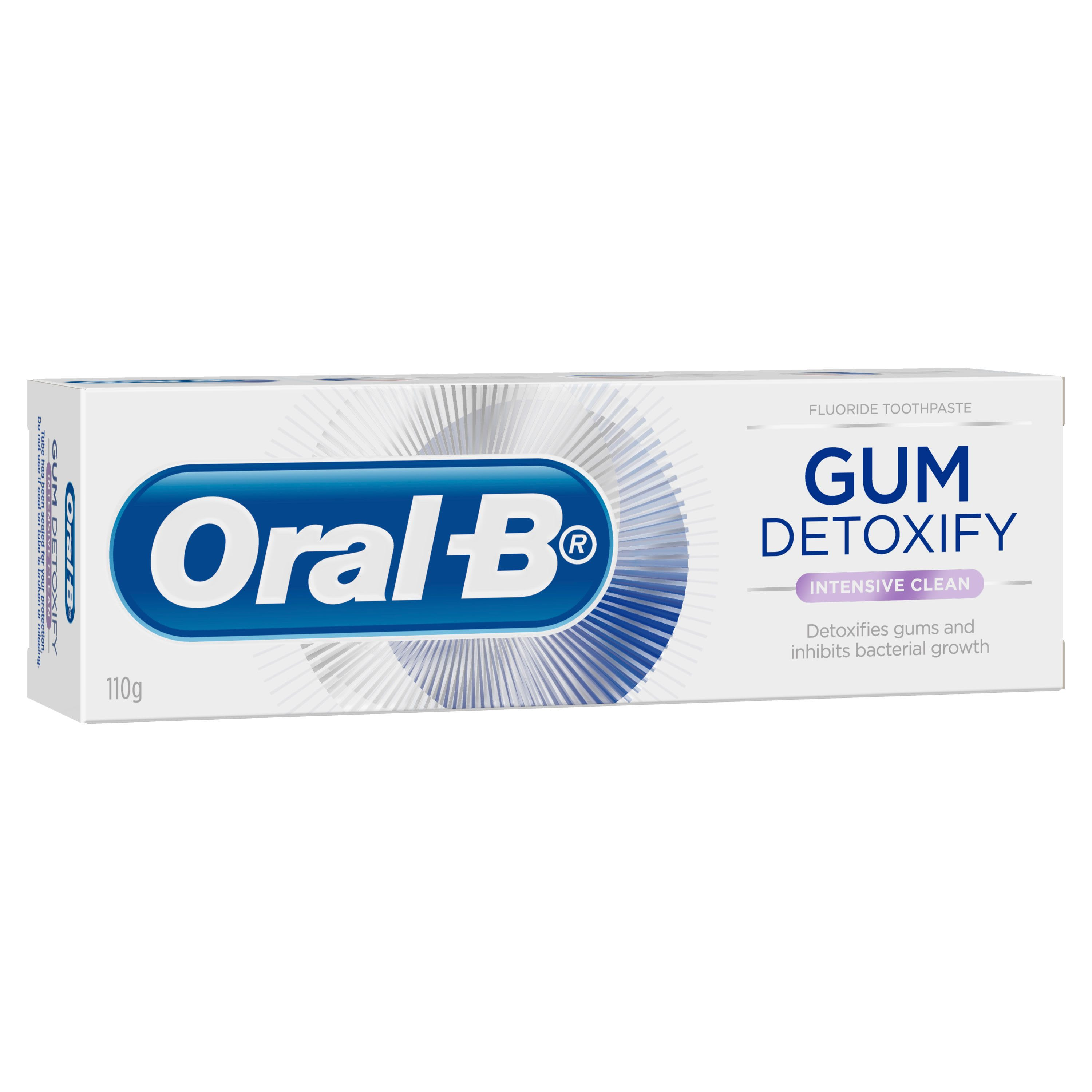 Gum Detoxify Intensive Clean Toothpaste