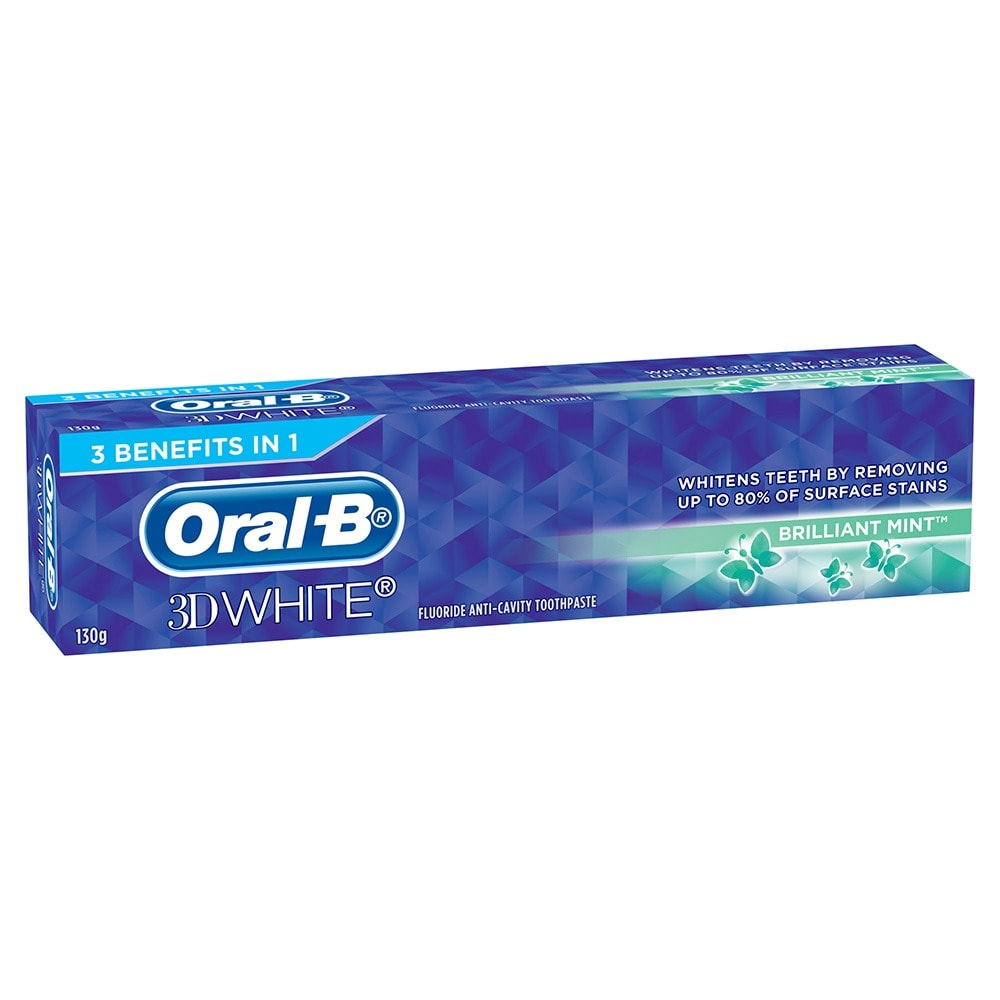 Oral-B 3D White Toothpaste Brilliant Mint