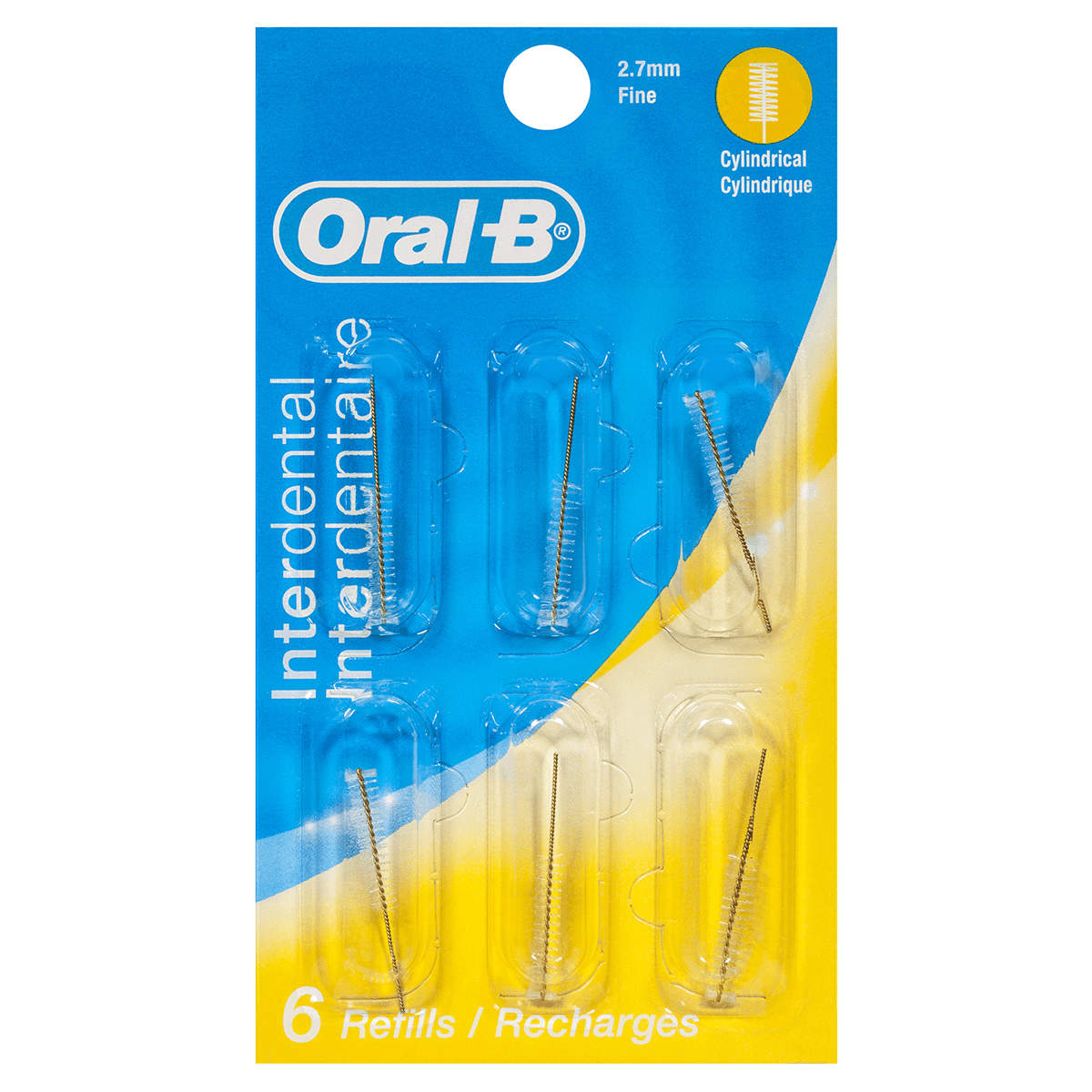 Oral-B Interdental Cylindrical Refills