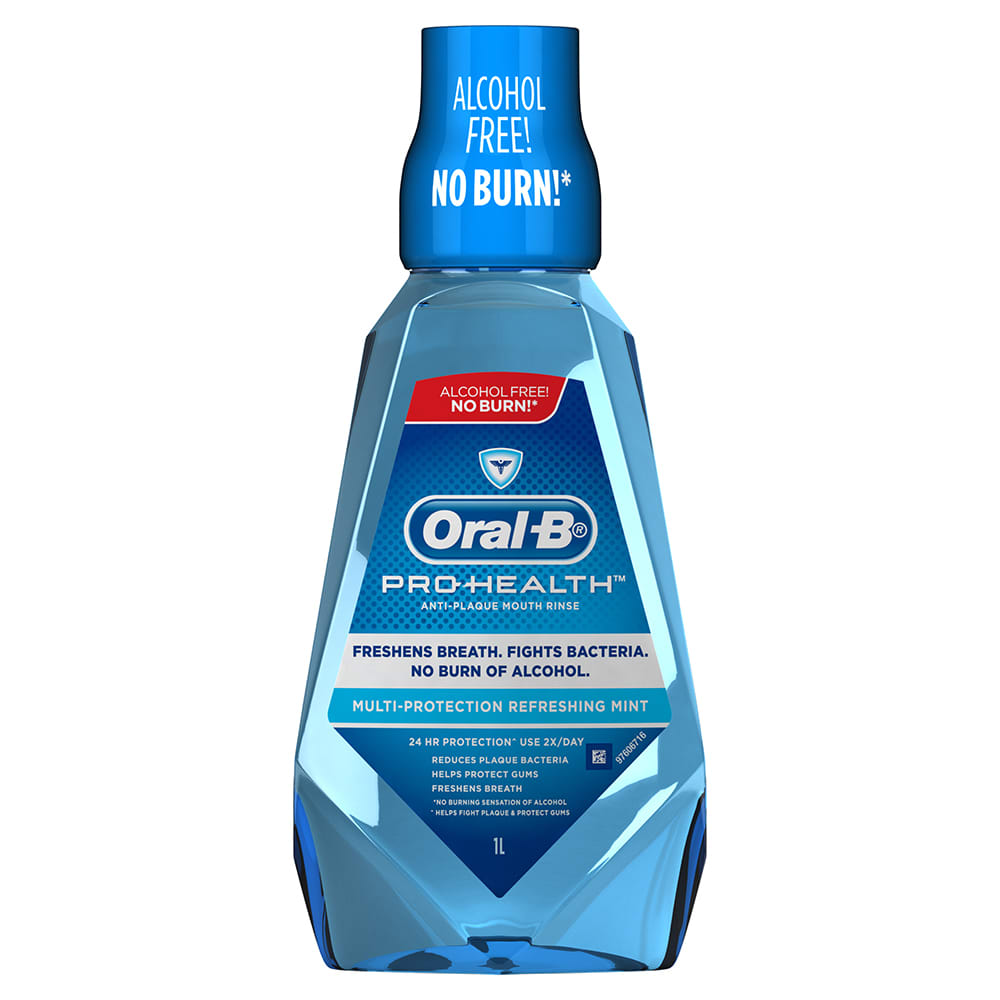 Oral-B Pro-Health Multi-Protection Anti-Plaque Mouth Rinse Refreshing Mint