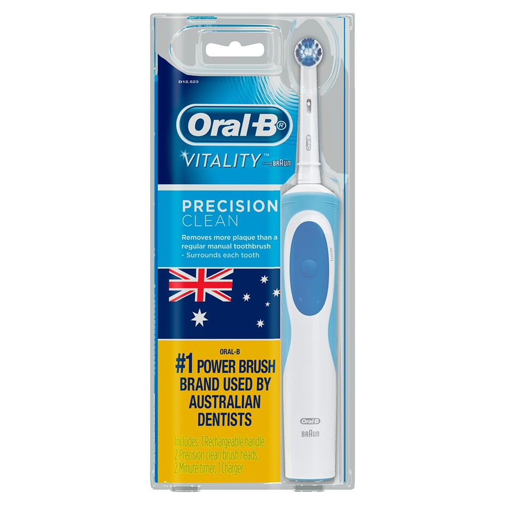 Oral-B Vitality FlossAction Rechargeable Electric Toothbrush 67383394c9a3