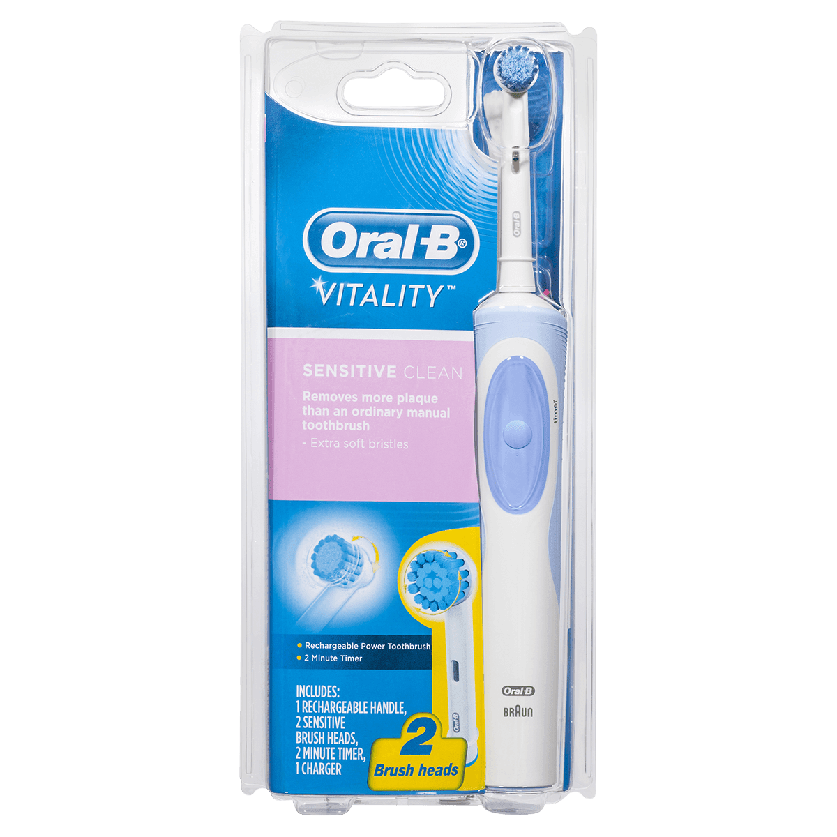 Oral-B Vitality Sensitive Clean Rechargeable Power Toothbrush