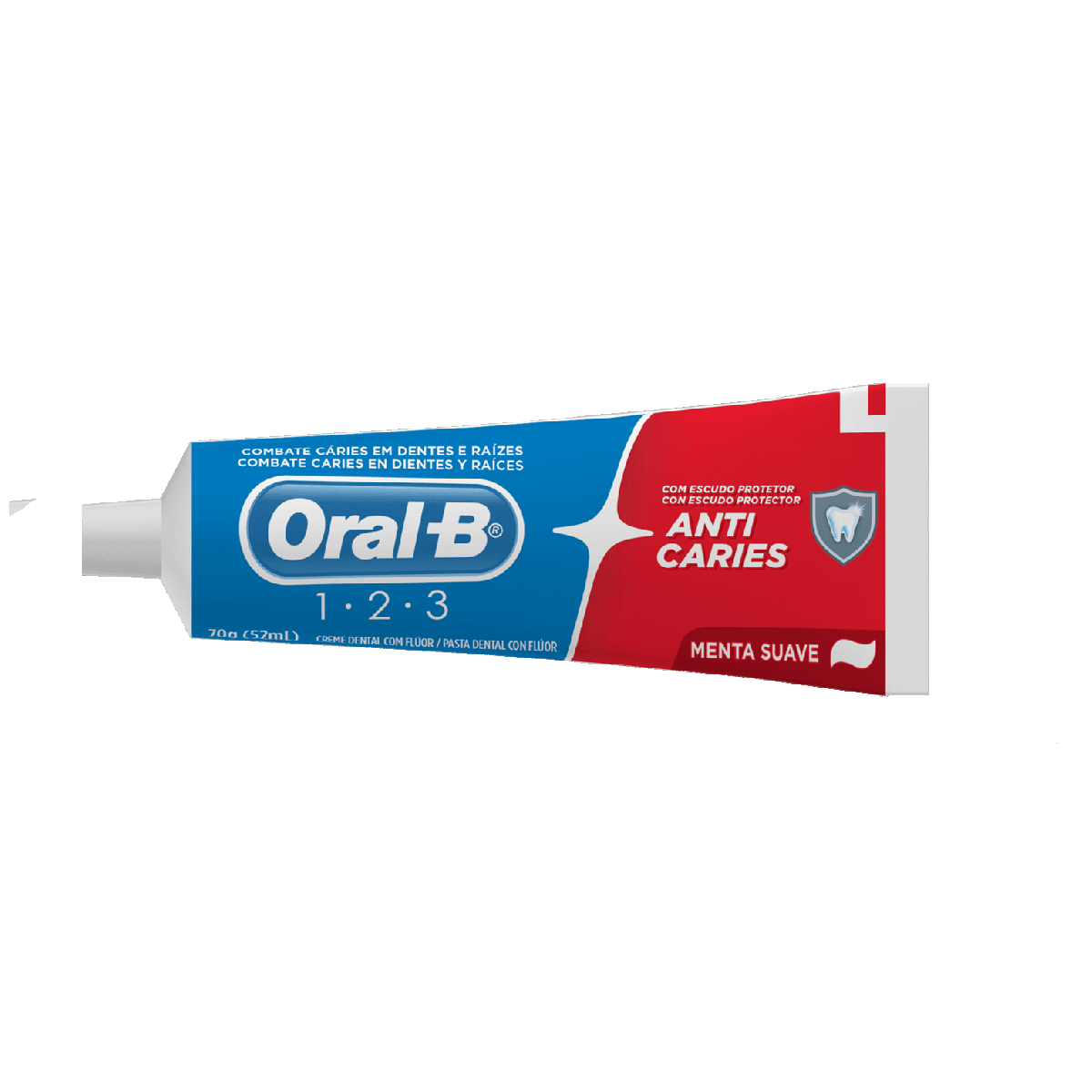 Creme dental Oral-B 123 Anti-cáries