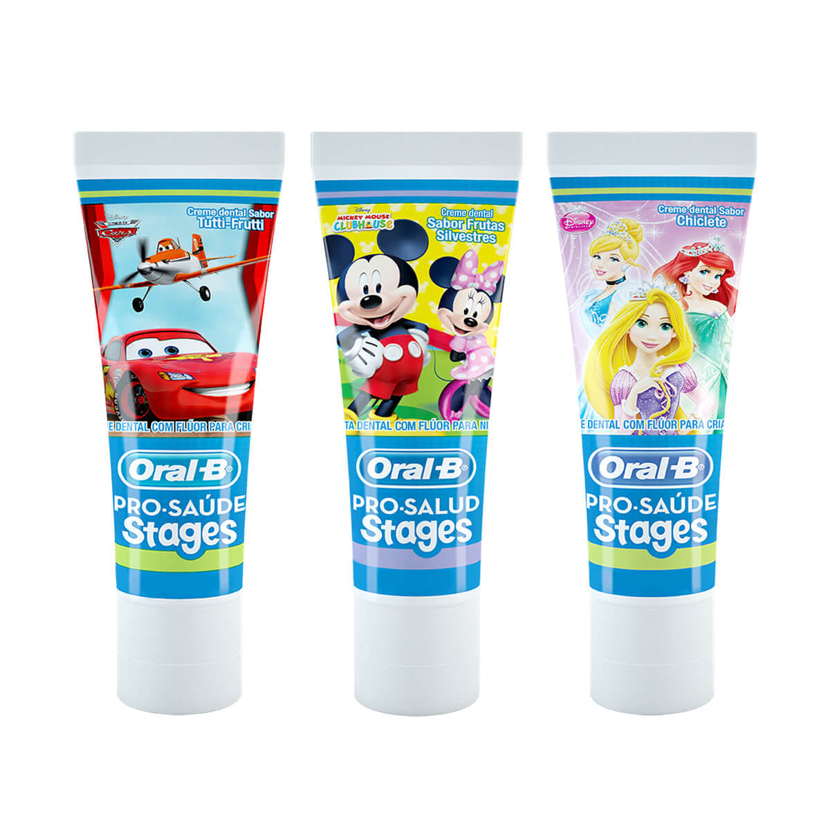 Creme dental Oral-B Pro-Saúde Stages Disney