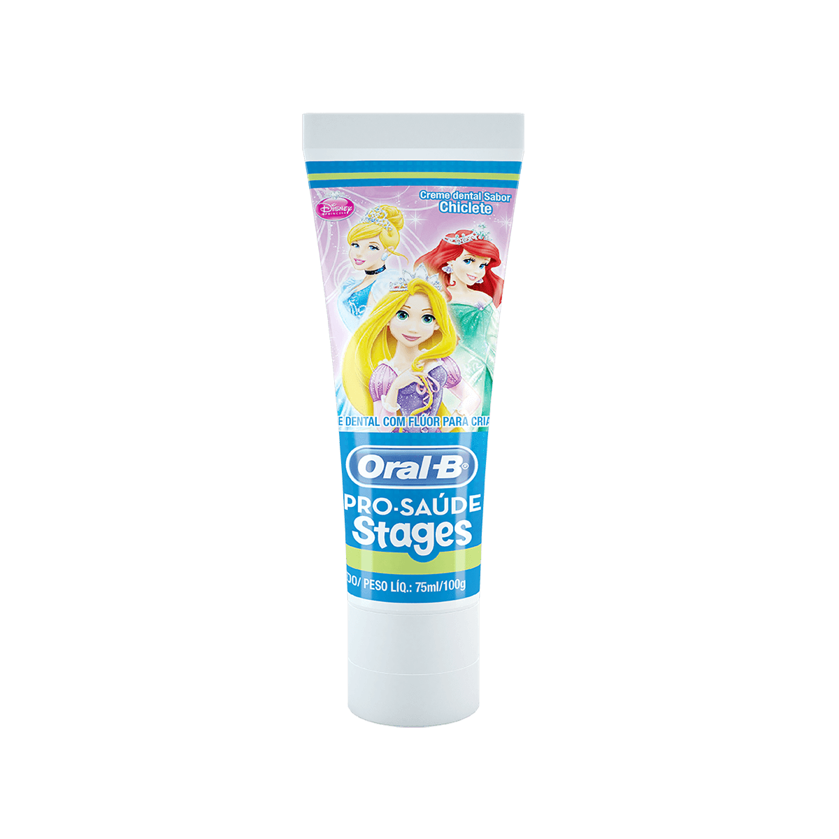 Creme dental Oral-B Pro-Saúde Stages Disney - princesas