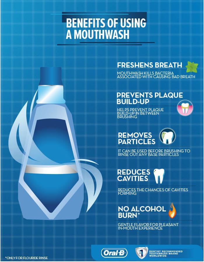 benefits of using a mouthwash