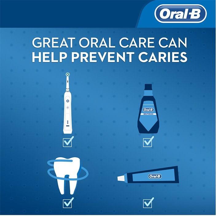 great oral care prevents caries