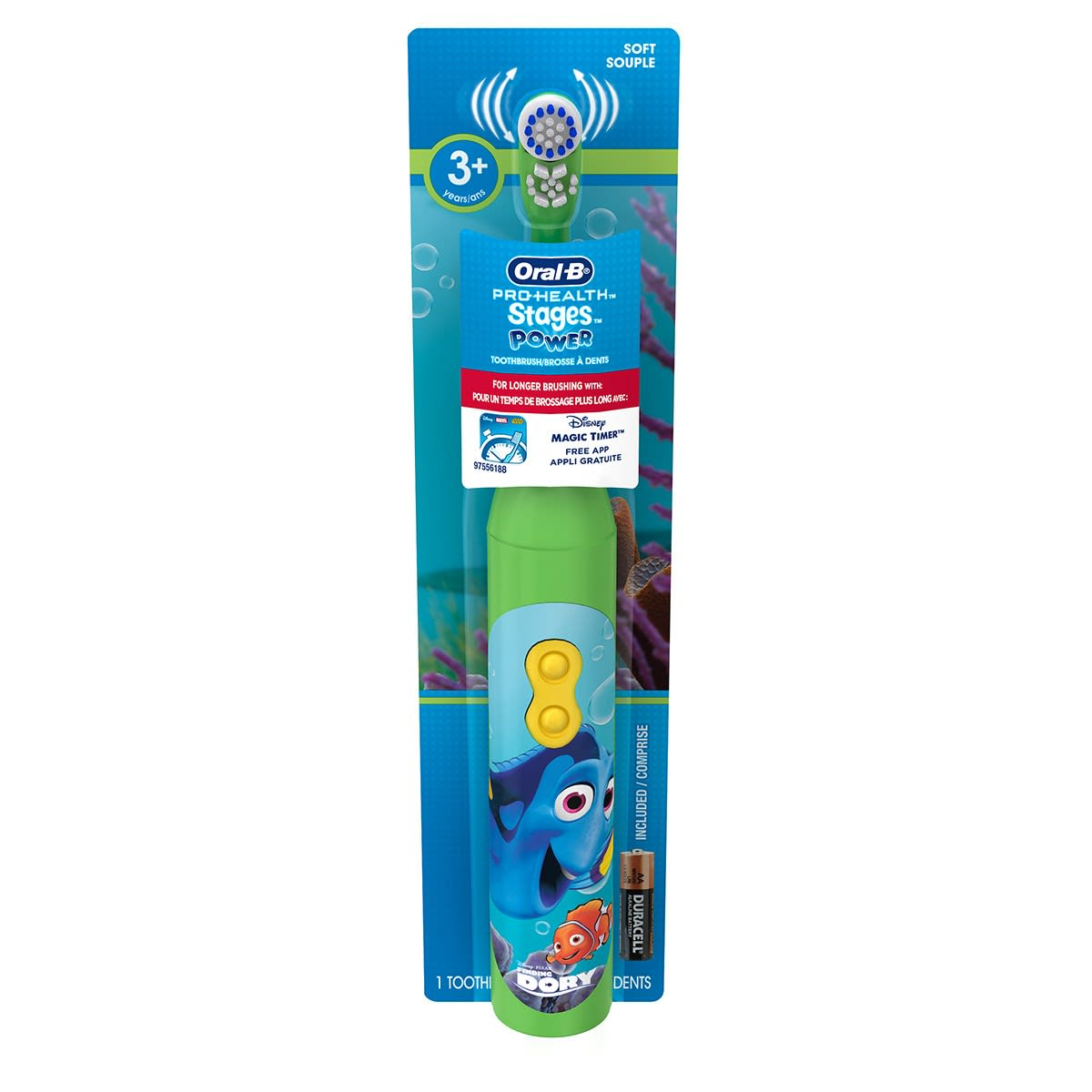 Oral-B Pro-Health Stages Disney Finding Dory Battery Toothbrush