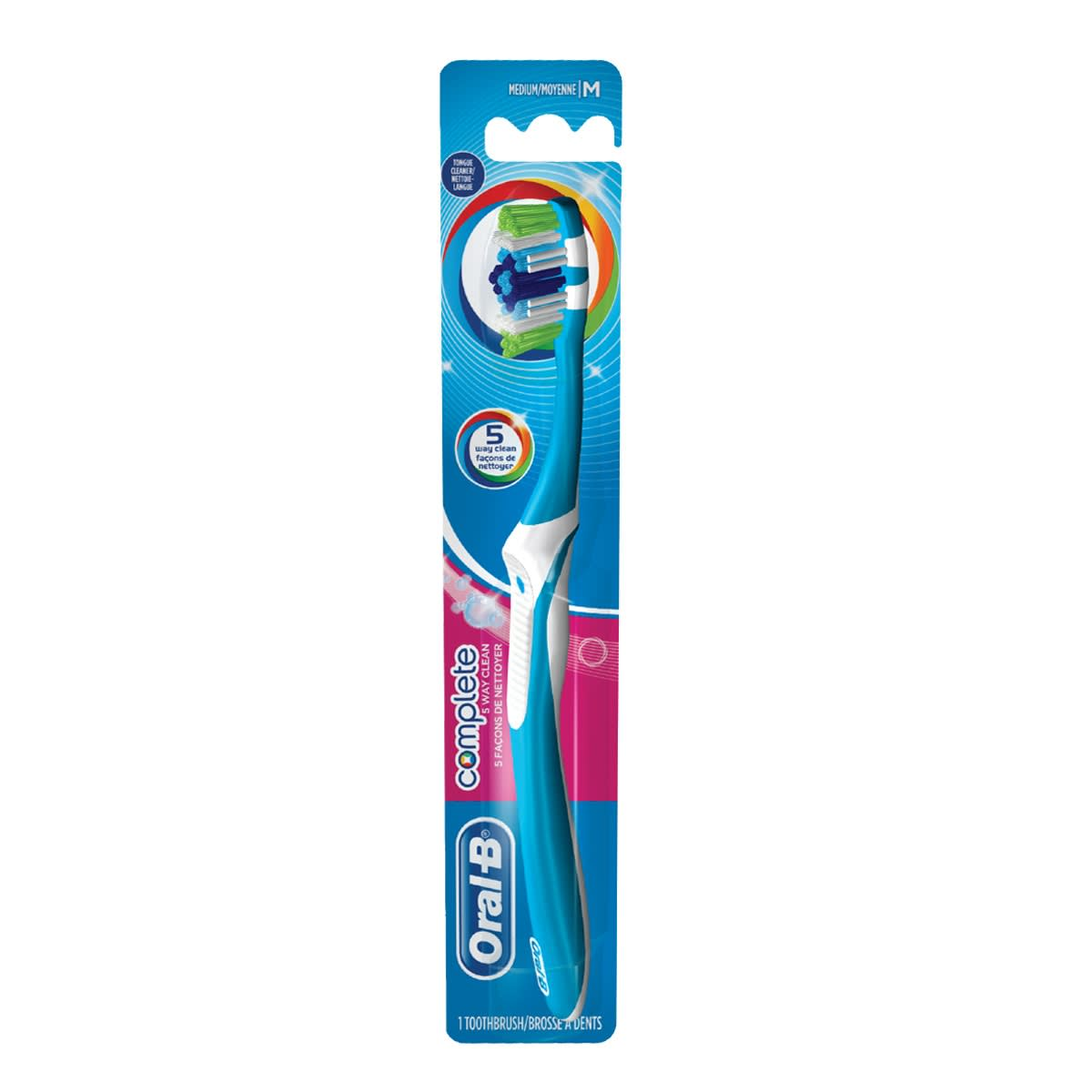 Oral-B 5 Way Clean Manual Toothbrush