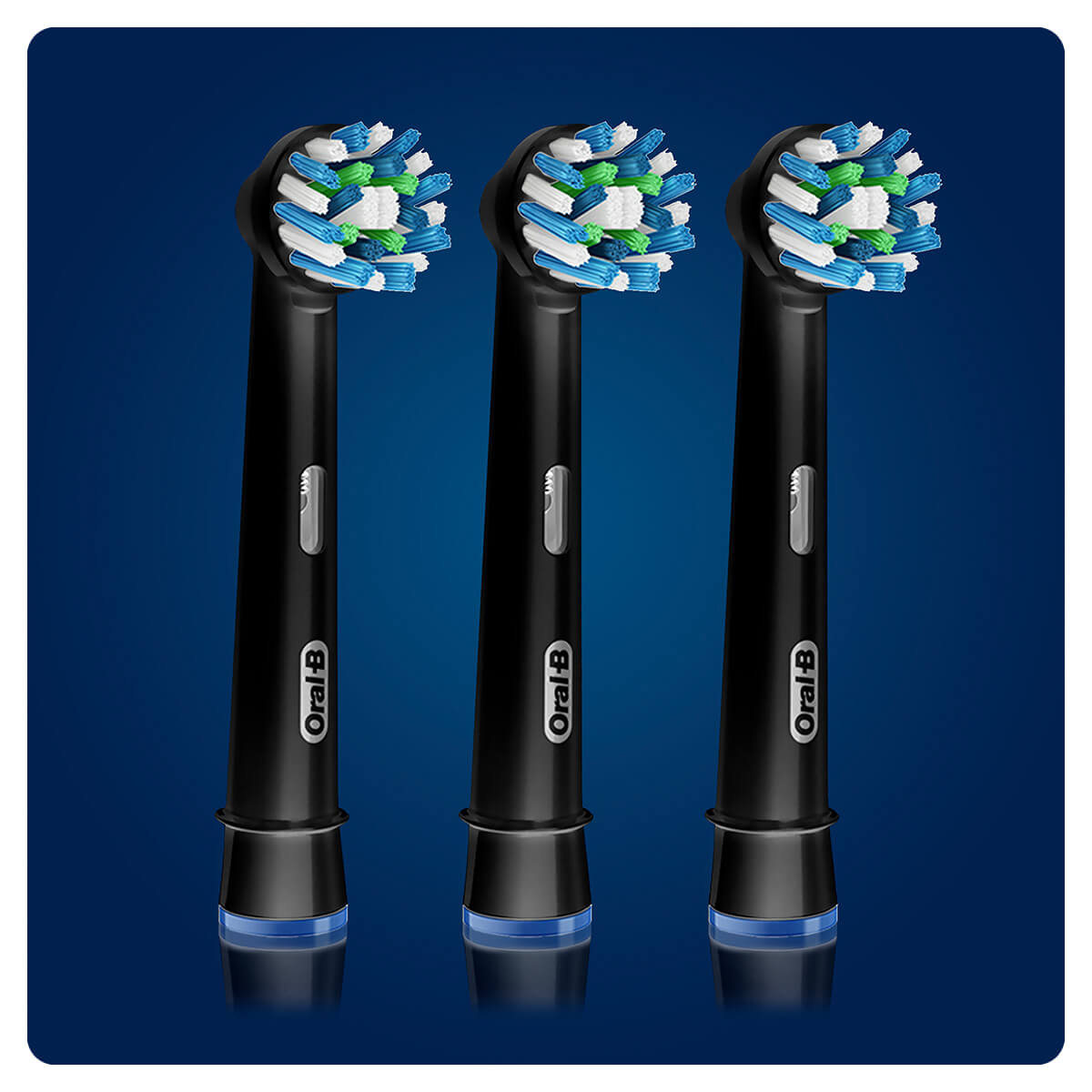 Oral-B CrossAction Black Edition Aufsteckbürsten