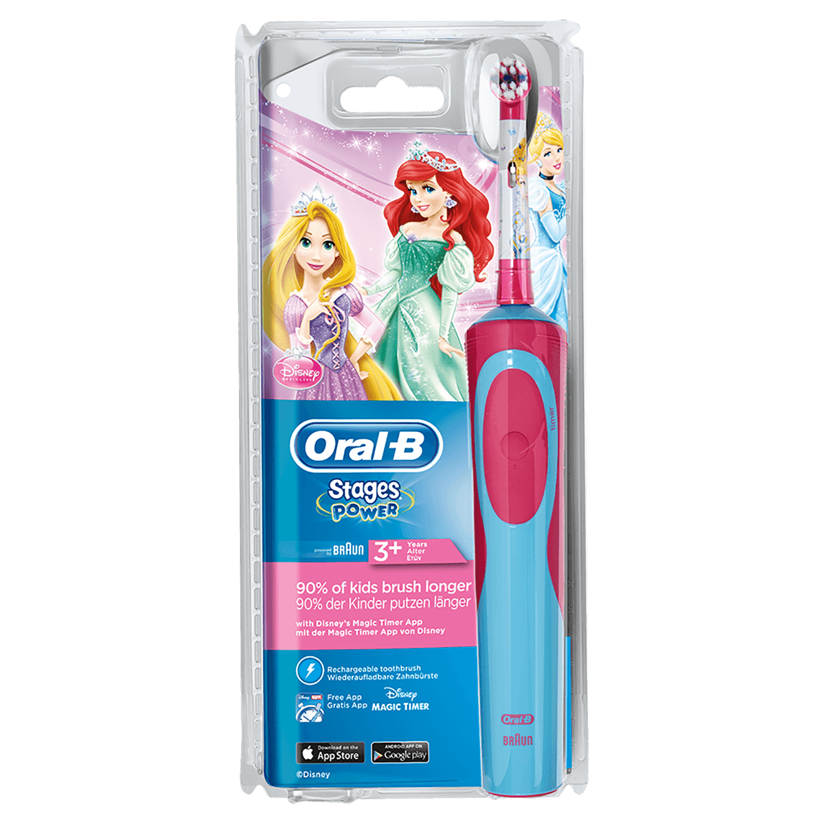 Oral-B Stages Power Princess Elektrische Zahnbürste