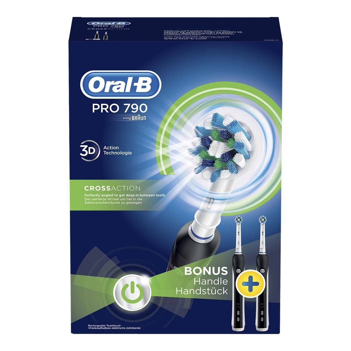 Oral-B Pro 790 CrossAction elektrisk tandbørste