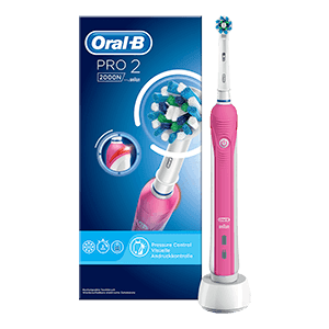 Oral-B Pro 2 2000 CrossAction -sähköhammasharja 13836c8e3f