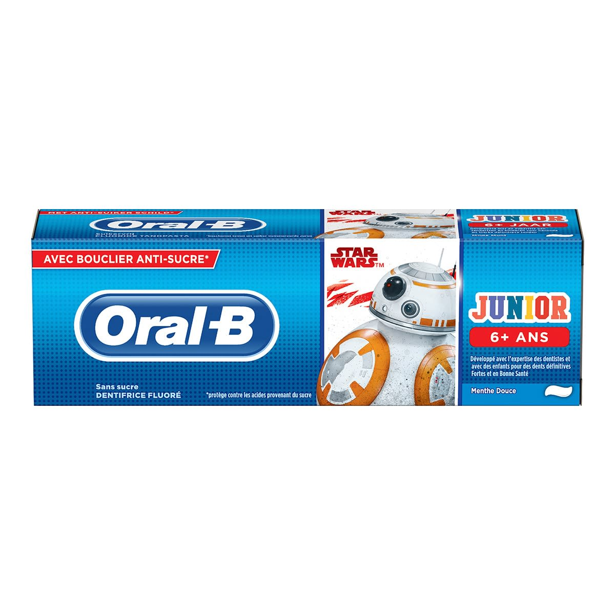 Dentifrice Enfant Oral-B Junior 6+ Star Wars | Oral-B