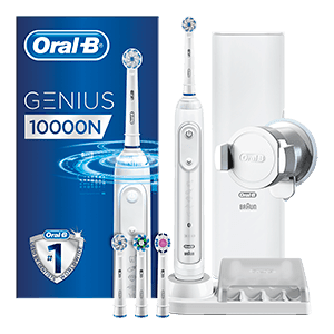 Oral-B Genius 10000 CrossAction Blanche