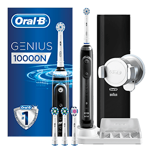 Oral-B Genius 10000 CrossAction Noire