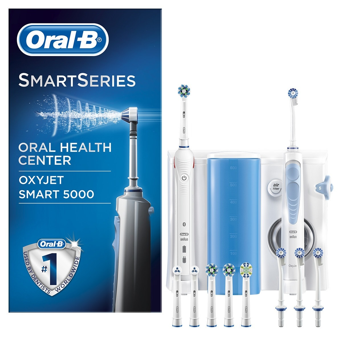 Oral-B Smart  5000 + Combiné Dentaire Oxyjet
